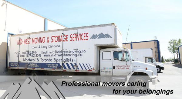 professional movers caring for your belongings